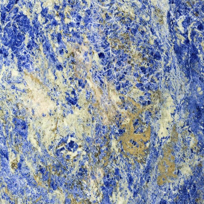 Mármol ligero Sodalita Azul para gran formato - Lightweight Blue Sodalite marble for large format