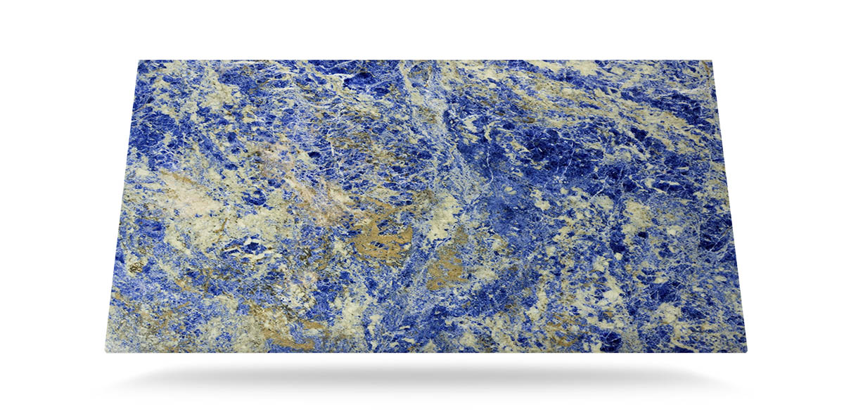 Lightweight Blue Sodalite Marble For Large Format Stonesize