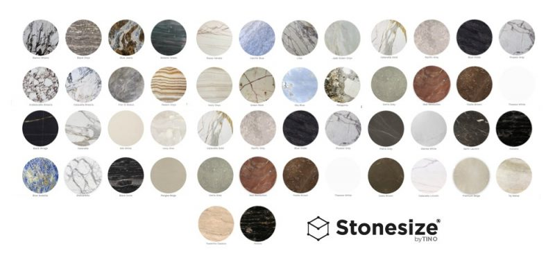 Lightweight natural stone collection Honeycomb - Colección de piedra natural ligera Honeycomb