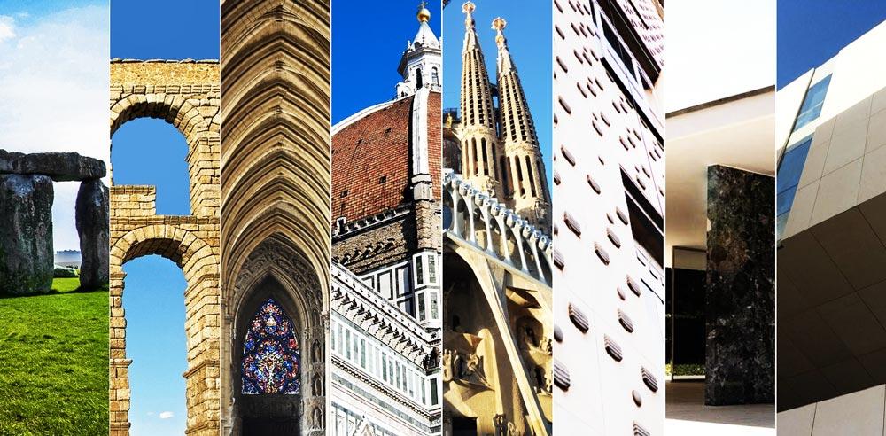 History of stone applied to architecture - Historia de la piedra aplicada a la arquitectura