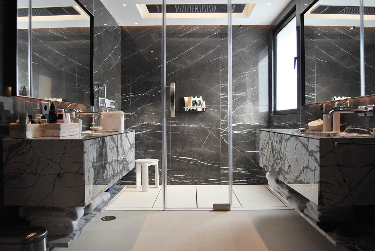 Paneles ligeros de mármol para paredes de interior - Lightweight marble panels for interior walls