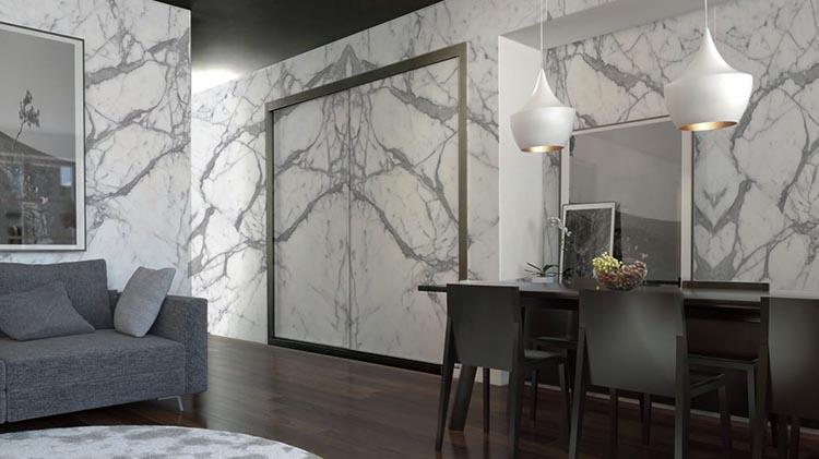 Paredes de mármol natural - Natural marble walls