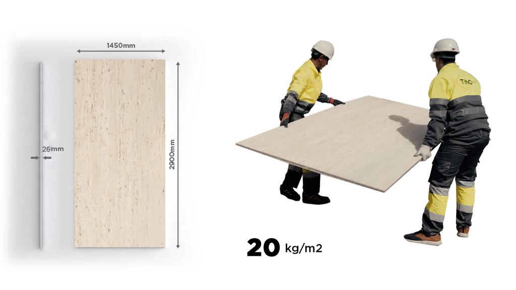 Paneles de piedra natural para fachadas ventiladas - Natural stone panels for ventilated façades