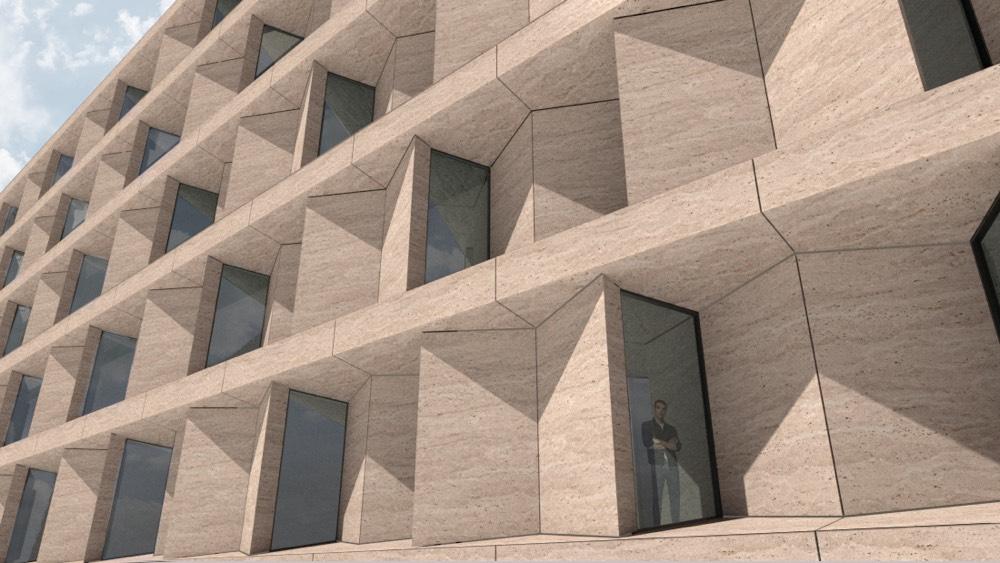 Paneles para fachadas industrializadas- Stonesize - Industrialized facade panels