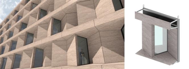 Fachada singular gran formato - Large format singular facade