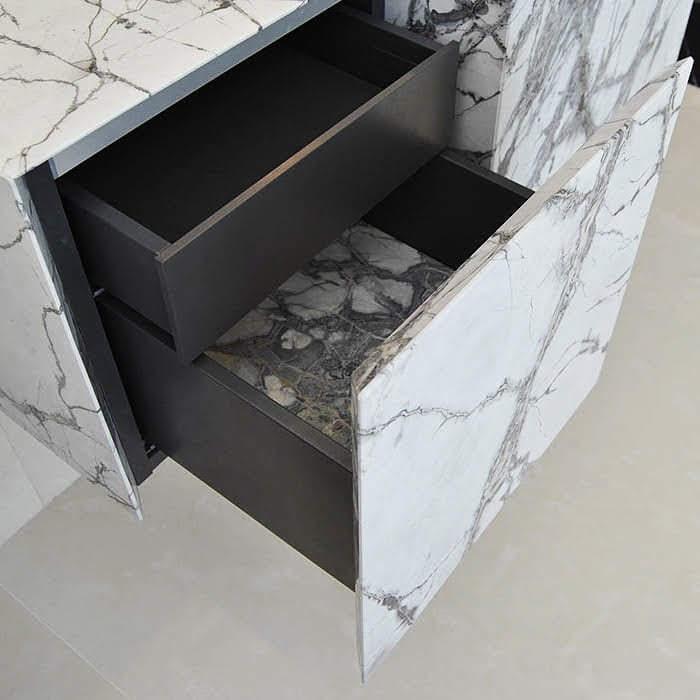 Frentes de cocina de piedra natural - Natural stone kitchen fronts