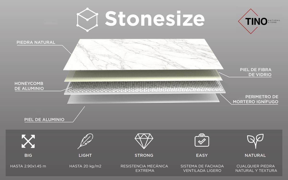 Piedra natural fachada singular - Stonesize - Natural stone singular façade