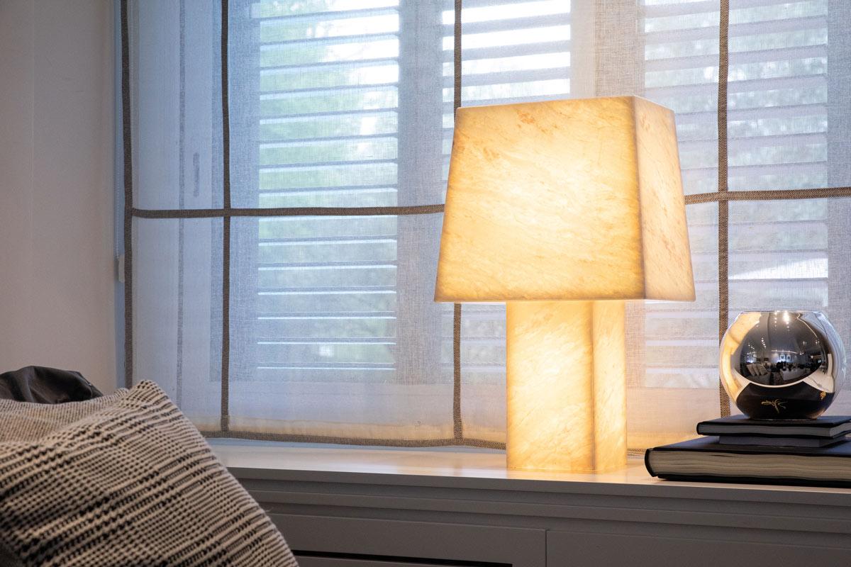 Piedra translúcida lámparas - Translucent stone lamps