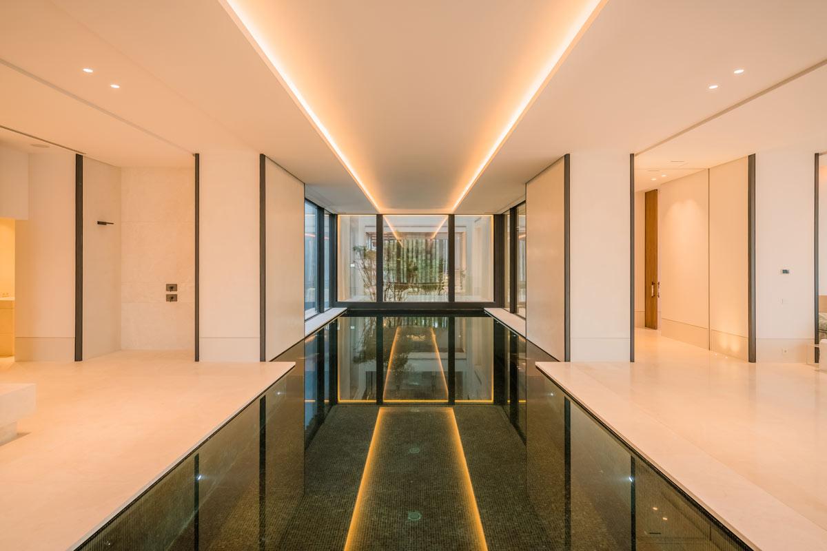 Marble indoor swimingpool - Villa Cullinan - Piscina interior de mármol