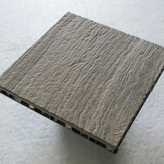 Acabado envejecido muestra - Stonesize Honeycomb - Aged finish