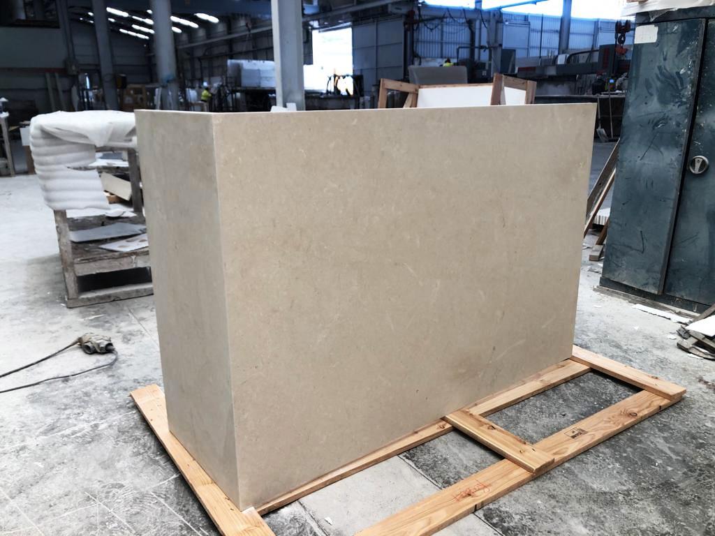 Esquina 90 grados para formación de piezas de fachada.