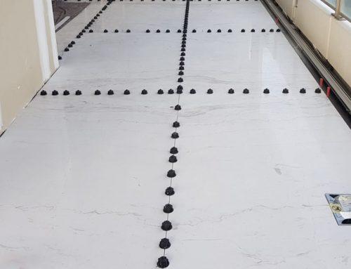 ¿Cómo evitar roturas instalando mármol de gran formato?