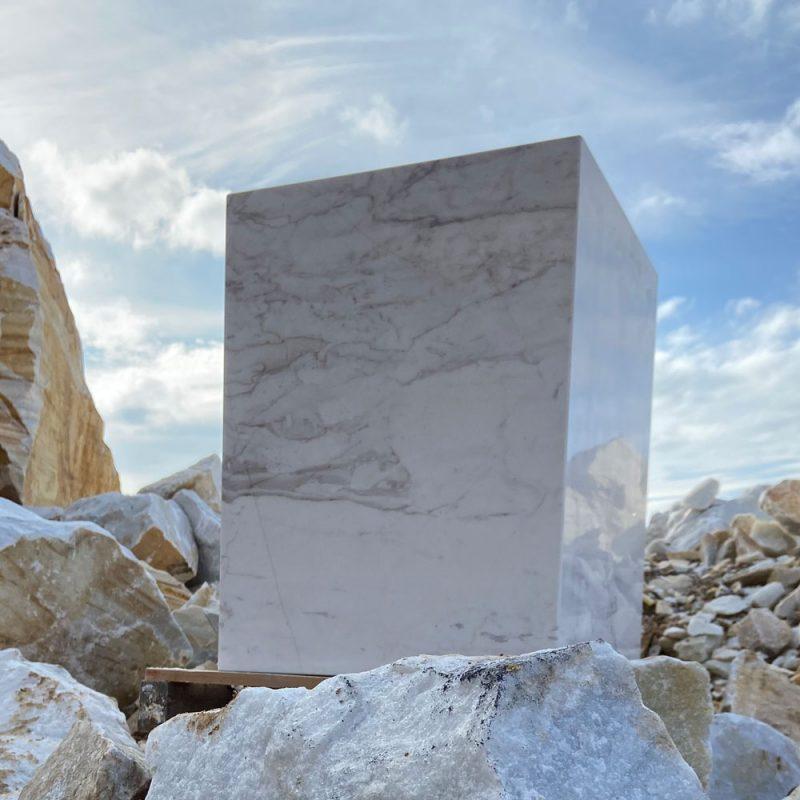 Taburetes de mármol ligero - Lightweight marble stool