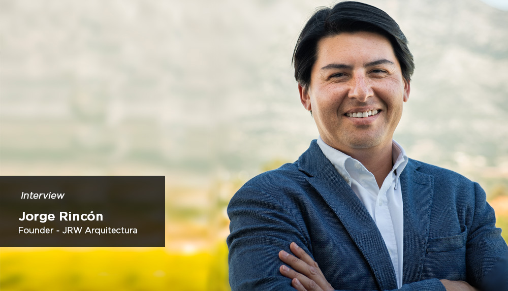 Interview with the architect Jorge Rincón