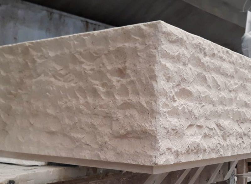 Mármol escarfilado - Honeycomb - Splitface marble